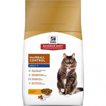 Hill's Science Plan Feline Hairball Senior Chicken