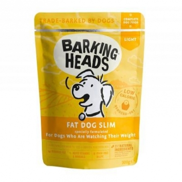 BARKING HEADS Wet Fat Dog Slim 300g Pouch