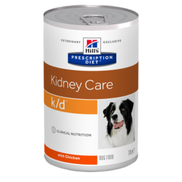 Hill's Prescription Diet k/d Canine with Chicken konservas šunims 370g