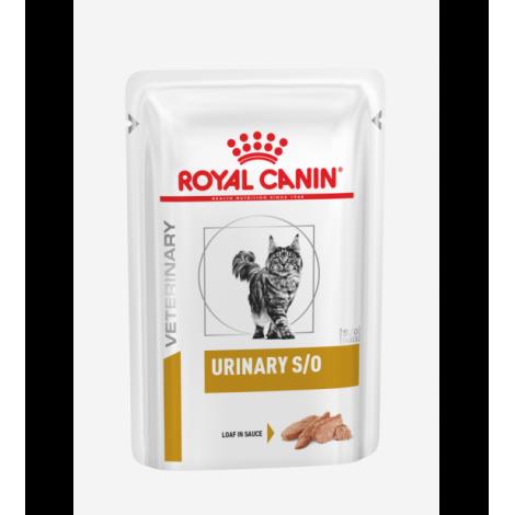 Royal Canin VD Feline Urinary S/O Pouch Paštetas (12 vnt x 85g.)