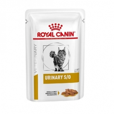 ROYAL CANIN FELINE URINARY S/O BEEF POUCH (12 vnt. x 100 g.)