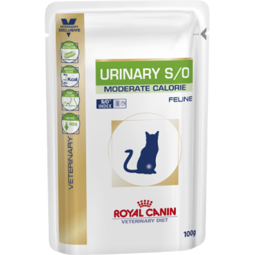 Royal Canin Feline Urinary Moderate Calorie konservai