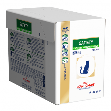 Royal Canin Satiety cat konservai (12x85g)