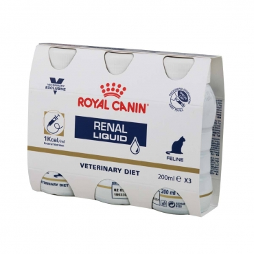 Royal Canin Feline Renal Liquid (3x200ml)