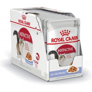 Royal Canin Adult Instinctive šlapias ėdalas (gabaliukai drebučiuose) (85g. x 12pak.)