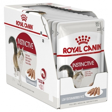 Royal Canin Adult Instinctive paštetas (85g. x 12pak.)