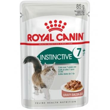 Royal Canin Instinctive 7+ šlapias ėdalas (gabaliukai padaže)