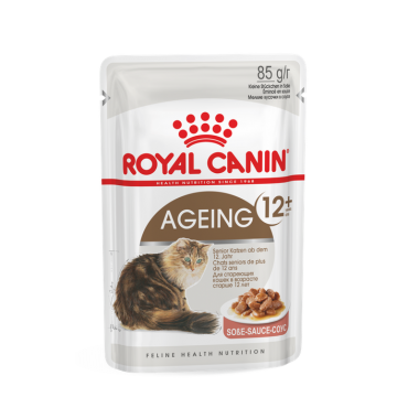 Royal Canin Ageing 12+ (gabaliukai padaže) (85g. x 12pak.)