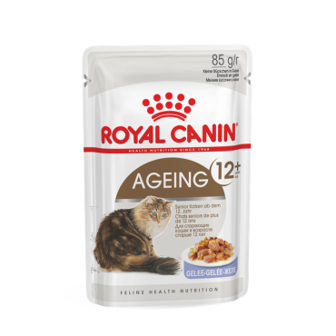 Royal Canin Instinctive 12+ šlapias ėdalas (gabaliukai drebučiuose) (85g. x 12pak.)