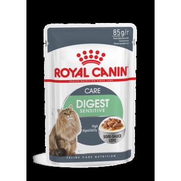 Royal Canin Digestive Sensitive šlapias ėdalas (gabaliukai padaže) (85g. x 12pak.)