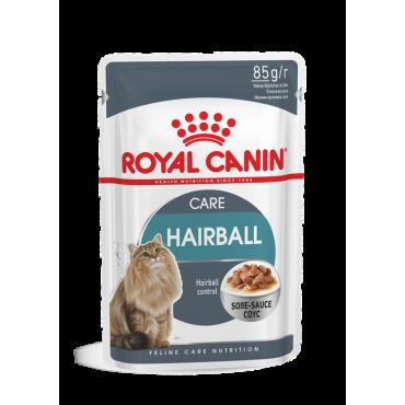 Royal Canin Hairball Care šlapias ėdalas (gabaliukai padaže) (85g. x 12pak.)