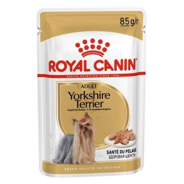 Royal Canin Yorkshire Adult paštetas (85g. x 12pak.)
