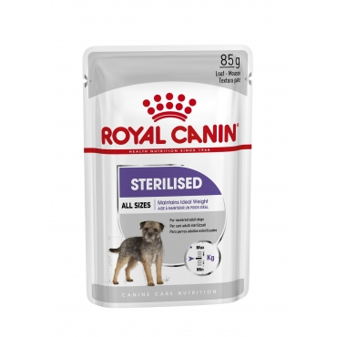 Royal Canin Sterilised paštetas (85g. x 12pak.)