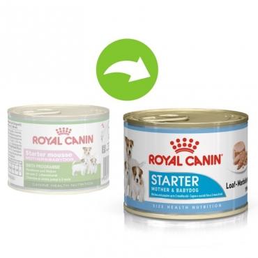 Royal Canin Starter Mousse šlapias ėdalas 200g